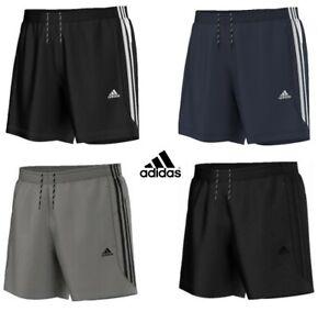 Mens Adidas Chelsea Climalite Sports Football Running Gym Training Shorts