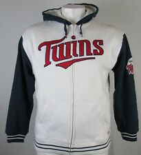 Minnesota Twins MLB Stitches Men's Full-Zip Hoodie