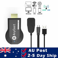 Wireless WiFi Display Dongle HDMI Screen Share Display Receiver 1080P For PC TV