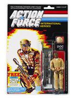 Action Force / GI Joe Doc Medic MOC Carded Custom Sticker Offer