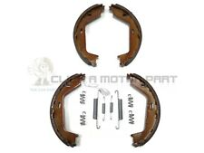 VOLVO XC70 + XC90 REAR HAND BRAKE SHOES + FITTING KIT CLIPS SPRINGS SET NEW