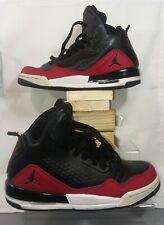 Nike Air Jordan SC-3, 629942-009, Black/Red/White, Boy's Basketball Shoes, Sz 5Y