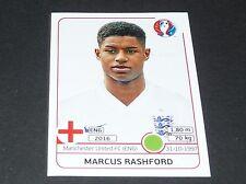 RASHFORD MANCHESTER UNITED ENGLAND EXTRA STICKER PANINI FOOTBALL UEFA EURO 2016