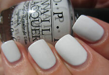 OPI NAIL POLISH LACQUER - My Boyfriend Scaled The Walls - White - NL M37