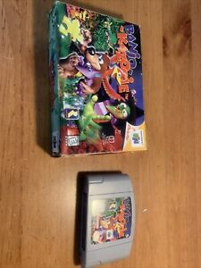 Banjo-Kazooie N64 Tested & Working & Authentic (Nintendo 64) Cartridge And Box