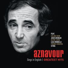Charles Aznavour - Aznavour Sings in English: Official Greatest Hits [New CD] Ho
