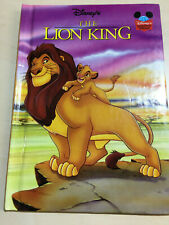 Walt Disney's The Lion King Children's Book, Used Good condition