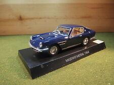 Maserati Mistral In Metallic Blue 1964 1/43rd Scale