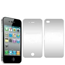 2x iPhone 4 4G LCD Screen Film Protector +Back Cover UK