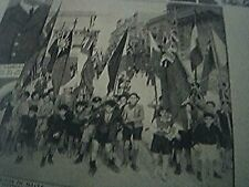 magazine picture world war two ww2 - rejoicing in malta jan 23rd 1943 victory in