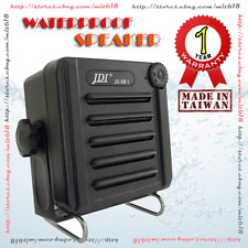 Waterproof External Marine Speaker For Ham Cb Vhf Uhf Marine Boat radio Black