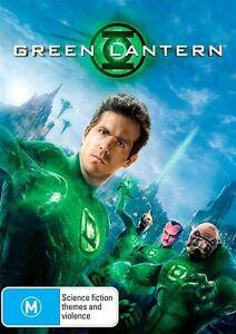 Green Lantern DVD  Ryan Reynolds, Blake Lively BRAND NEW R4