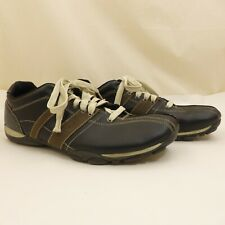 State Street  Black & Brown Lace-Up Oxford Casual Shoes Mens Size 13