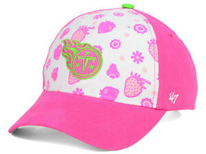 Tennessee Titans NFL Strawberry Smoothie Kid's Youth Adjustable Girls Hat Cap TN
