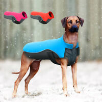 Waterproof Winter Dog Clothes Pet Warm Reflective Fleece Jacket Coat S-5XL Boxer
