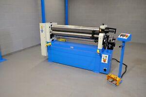 Mach 1300mm X 4.5mm  120 Dia Power  Metal  bending Rollers rolls Vat Is Included