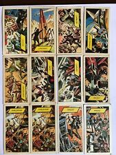 Doctor Who WALLS SKY RAY ADVENTURE 1967 trading cards 12 Cards