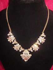 J Crew Necklace Rhinestone Crystal Statement Princess ABSOLUTELY GORGEOUS! NWT
