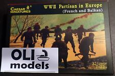 1/72 WWII Partisan in Europe: French & Balkan FIGURES SET - Caesar  56