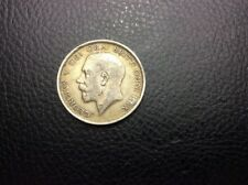 1917 Georgivs V Dei Gra Britt Omn Rex Fid Def Ind Imp Silver Coin