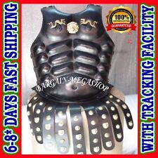 Christmas Presents Xmas Leather Muscle Body Armour Chestplate Breastplate t7