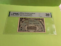 PMG Graded MPC Series 481 $1 Banknote First Printing Choice Fine 30