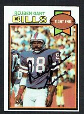 Reuben Gant #358 signed autograph auto 1979 Topps Football Trading Card