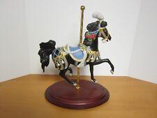 Royal Splendor, Carousel Horse porcelain Figure, 1991 Franklin mint Lynn Lupetti