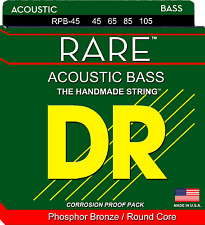 DR Strings RPB-45 RARE™ Phosphor Bronze Acoustic Bass Strings - Medium