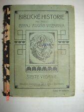 Old Book - BIBLICKE HISTORIE - PAVEL COBRDA - 1910 - Pittsburgh, Pa