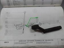 LEVA RINVIO SELETTORE CAMBIO ESTERNA FIAT 500 F L FIAT 600 D FIAT 979314