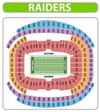 4 Tickets Las Vegas Raiders vs Tampa Bay Buccaneers  Allegiant Stadium Vegas