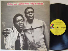 """BUDDY GUY & JUNIOR WELLS - Play the Blues LP (RARE US Pressing on """"yellow"""" ATCO)"""