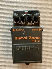 BOSS MT-2 Metal Zone Distortion Guitar Effects Pedal