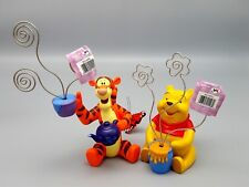 Tigger Pooh Photo Note Holders 2000 Park Exclusive Winnie set collection