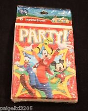 Hallmark Disney Mickey Mouse Clubhouse PARTY 8 Invitation Cards