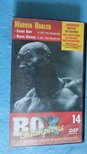 Marvin Hagler, BOX Champions 14, Marshall Cavendish Kollekt. Video BXS 0014 VHS