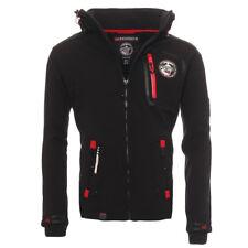 Geographical Norway tierno chaqueta Softshell de hombre funcional exterior negro L