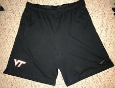 NWT Nike Virginia Tech Hokies Mens Black Casual Workout Shorts 3XL