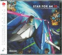 NEW Star Fox 64 3D Platinum Soundtrack CD JAPAN Club Nintendo import Japanese