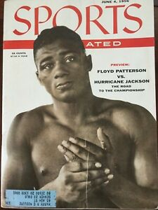 "Vintage Sports Illustrated June 4, 1956 ""Floyd Patterson"""