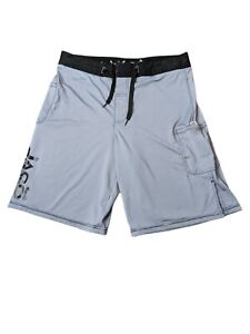JACO Gray MMA UFC Fighting Men's shorts Size 32 Spell Out Gym