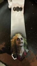 L@@K! BeetleJuice fan art necktie Micheal Keaton Tim Burton