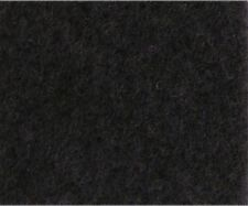 moqueta coche acustica adhesiva lisa color negro tapizar-rollo 70A x 150Lcm