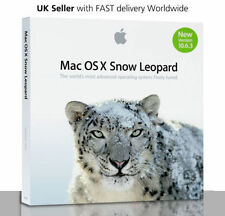 Apple Mac OS X 10.6.3 Snow Leopard Install DVD
