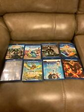 BLU-RAY LOT (ASSORTED LOT OF 8)
