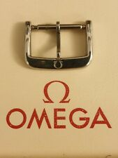 NOS Vintage Omega 16mm Stainless Steel Buckle -  Very Rare & Highly Desirable