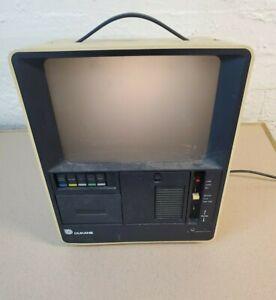 Vintage Dukane A-V Matic Sound Filmstrip Projector 1 7/8 IPS Cassette 35mm 28A1A