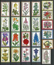 Germany Berlin 1974-1978 MNH Alpine, Meadow, Woodland, Garden Flowers Bouquets