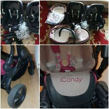 icandy peace 3 blossom Twins Claret